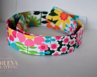 Martingale Style Collar || Retro Floral