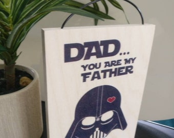 Funny Father's day gift. Father's day. Dad gift. Father's day gift for dad. Starwars. Cute fathers day gift. Darth vader. Luke Skywalker.