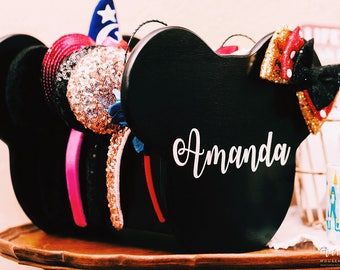 Mouse Ear Display | Table Top Disney Inspired Ear Display | Disney Headband Display | Disney Display