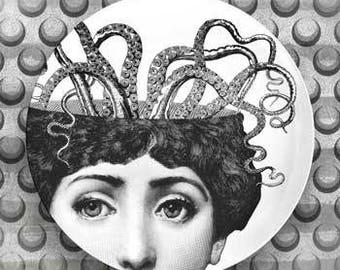 Lina Cavalieri Octopus III plate