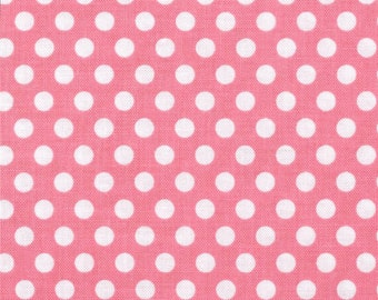 Michael Miller - Ta Dot in Girl - Bubblegum Pink & White - Fat Quarter
