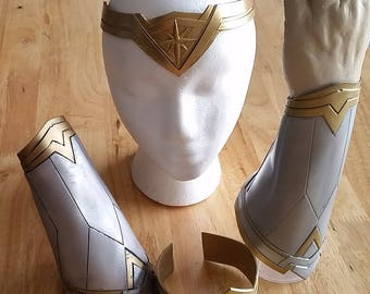Wonder Woman Set Rigid 3D Custom Printed - Thin Plastic (PLA)