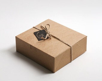 5 Rectangle medium Kraft boxes,Kraft gift box,Kraft favor box,gift boxes,Kraft paper box,small gift box,gift packaging,favor packaging,gift
