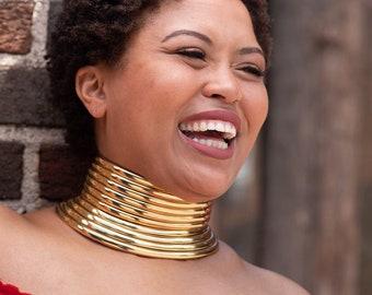 """Ndebele """"Okoye""""  Necklace (Idzila)"""