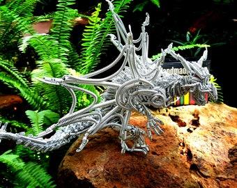 dragon wire art