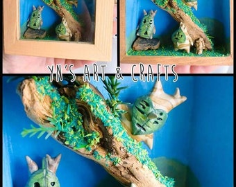 Vitrina Kolog The Legend of Zelda Korok Makar Showcase
