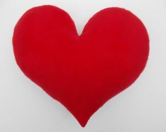 GIANT HEART PILLOW