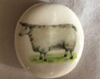 Smoke Stone Sheep Design