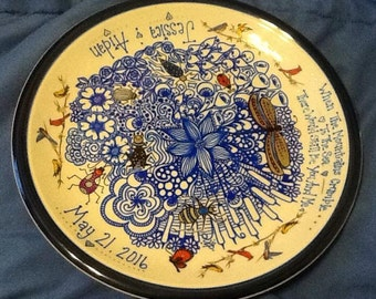 Personalized Decorated Plate
