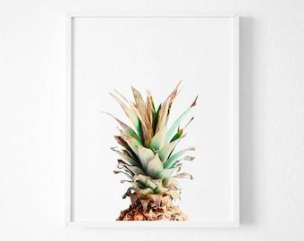 Pineapple Print, Pineapple Photography, Printable Art, Pineapple Wall Art, Tropical Art, Most Sold, Printable Pineapple, Tropical Decor