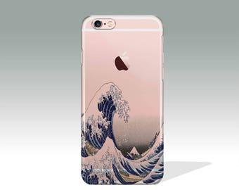 iPhone 7 Plus Case Kanagawa Wave iPhone 7 Case Ocean iPhone 6 Case Clear iPhone 6 Plus Case iPhone 7 Case Silicone iPhone Case //152