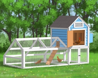 Chicken Coop Plans - Egg Mill