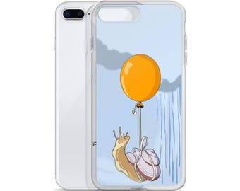 Inches Ahead of the Storm Snail iPhone Case