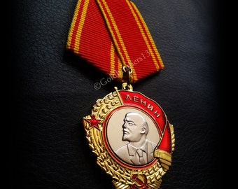 Order of Lenin Russian Soviet USSR medal military highest honor new rare replic