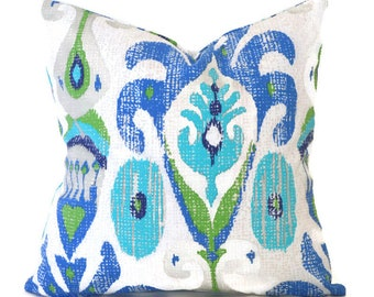 Blue Outdoor Pillows ANY SIZE Outdoor Cushions Outdoor Pillow Covers Decorative Pillows Outdoor Cushion Covers Best Pillow Matador Turquoise