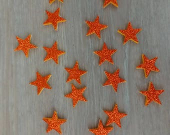 Set of 18 stars Moss for creative Kids Christmas