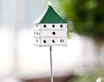 Miniature Dollhouse FAIRY GARDEN ~ Martin House Bird House ~ NEW