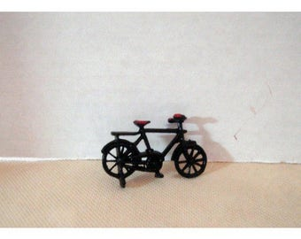 Metal Black Bike/tiny size/Minis/Craft Supplies*