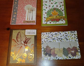 Happy Thanksgiving Greeting Cards Pack