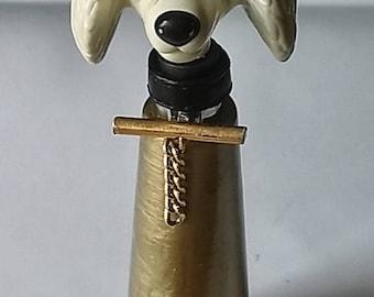 Decorative dog bottle
