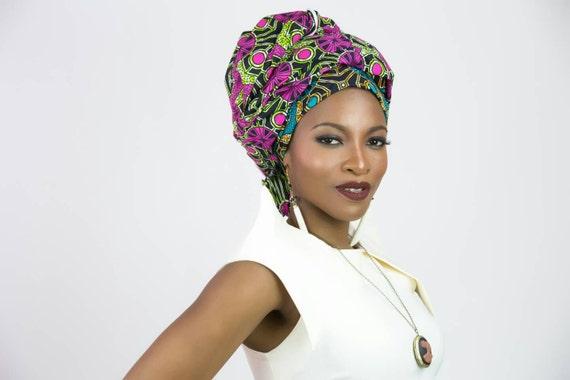 tissu africain tete