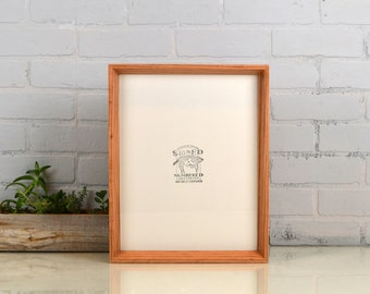 Solid Natural Oak Frame in Park Slope style - Choose your large frame size: 10x10, 9x12, 10x12, 11x11, 12x12, 11x13, 11x14, 12.5x12.5""