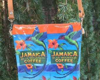 Crossbody  Jamacia Coffee Bag purse