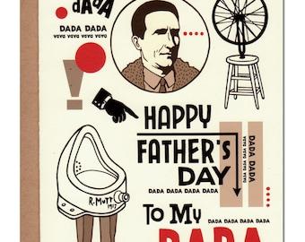 DADA Father's Day Card