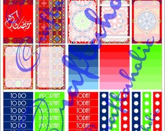 Ramadan Planner Sticker