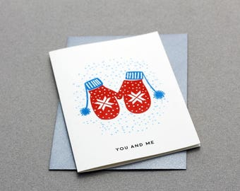 Card Gloves - You and Me