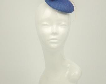 Royal Blue Fascinator / Hats for women / Blue Hat / Ascot Hat / Wedding Hat / Occasion Hat