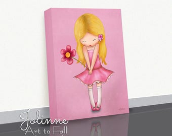 Girls Bedroom Decor,childrenu0027s Wall Art,Baby Girl Gift Art,Artwork For Kids