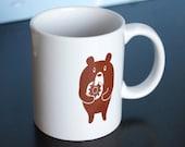 Donut Bear Ceramic mug...