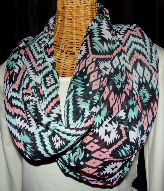South Western Infinity Scarf