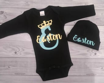 baby boy coming home outfit, baby boy clothes, newborn baby boy take home outfit, baby boy shower gift, baby boy outfit, newborn baby boy