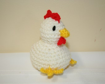 Crocheted Chicken