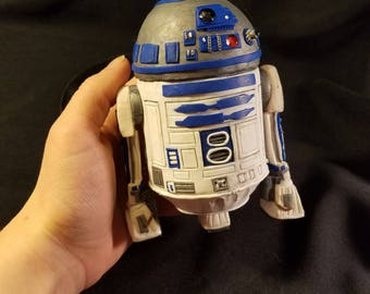 R2-D2 Stash Jar - Polymer Clay
