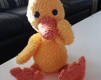 Crochet Baby Duckling