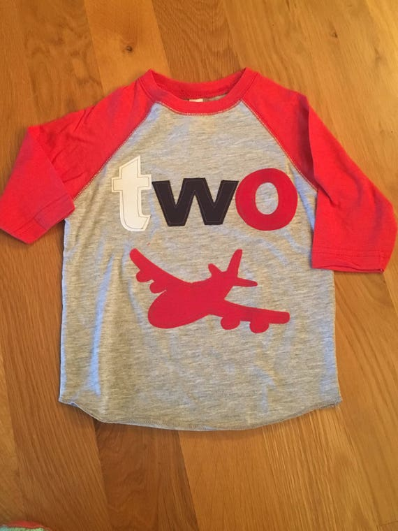 Boys first second any age airplane birthday shirt, 1 2 3 4 5 Birthday Shirt, time flies party Birthday shirt, plane shirt, red navy gray