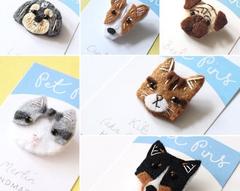 Personalised Pet Pins