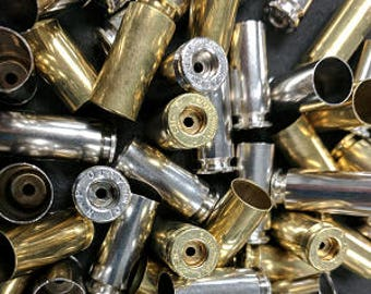 10mm Brass Casing Cleaned and Deprimed 100 rds