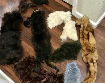Vintage fur pieces