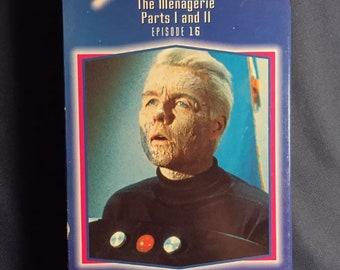 Star Trek épisode 16 la ménagerie VHS TV série 1993 libération Sci Fi