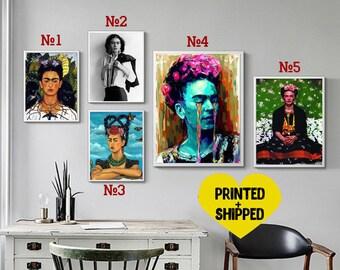 Frida Kahlo Poster Print Wall Art Frida Print Room Decor Frida Art Minimalist Gift Modern wall art Frida kahlo art frida kahlo download