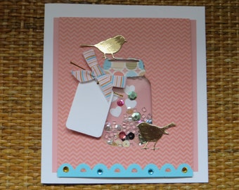 Shaker Card for all occasions