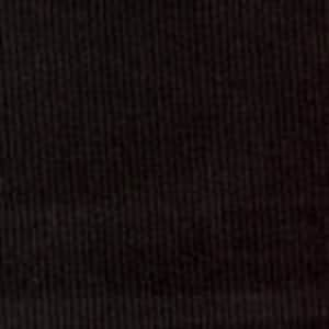 Black Corduroy Fabric, 100 % Cotton SUPER soft, velvety