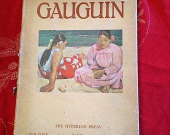 Gaugin by John Rewald With 160 Copper Engravings and 16 Large Color Reproductions