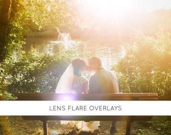 32 Sun overlays, overlays, photo overlays, photography overlays, sunlight, sun lens flare, light overlay, wedding overlay, digital overlay
