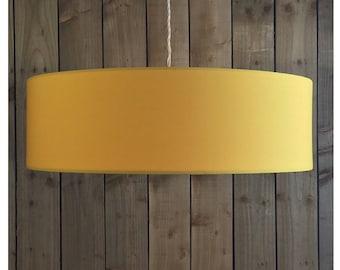 Yellow  Drum Lamp Shade Lightshade Ceiling Pendant  25cm 30cm 35cm 40cm 45cm 50cm 55cm 60cm 70cm