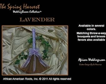 The Spring Harvest Wedding Broom™,